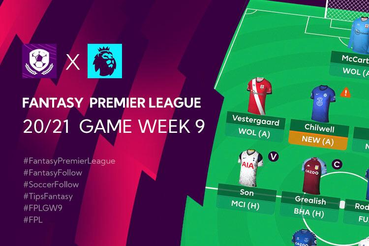 จัดทีม เทคนิค การวางแผน Fantasy Premier League TH ใน Gameweek 9