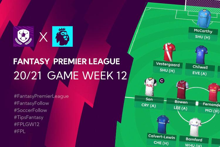 เทคนิค จัดทีม วางแผนใน Fantasy Premier League TH GameWeek 12