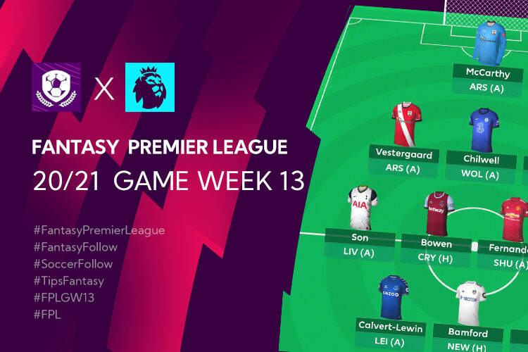 เทคนิค จัดทีม วางแผนใน Fantasy Premier League TH GameWeek 13