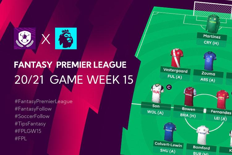 เทคนิค จัดทีม วางแผนใน Fantasy Premier League TH GameWeek 15