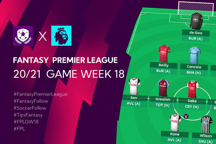 เทคนิค จัดทีม วางแผนใน Fantasy Premier League TH GameWeek 18