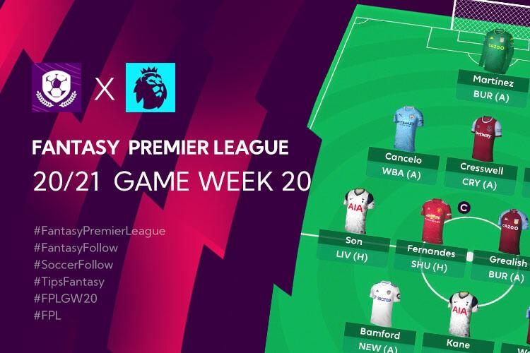 เทคนิค จัดทีม วางแผนใน Fantasy Premier League TH GameWeek 20